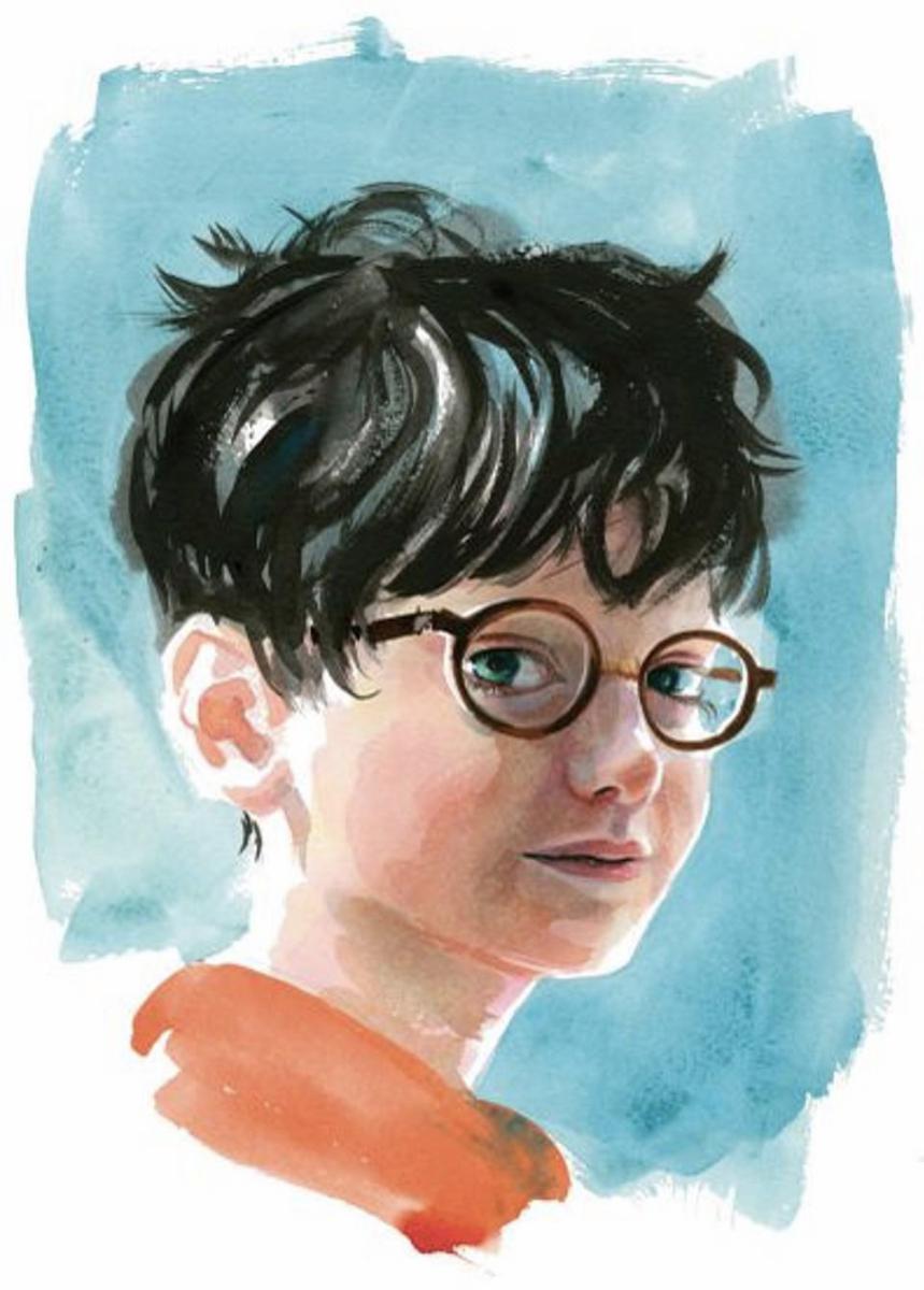 A Personagem Harry Potter Desenhada Pelo Artista Jim Kay, Responsável Pelas Novas Edições Ilustradas De Harry Potter